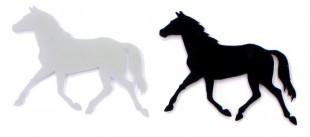 Samolepka na auto kůň