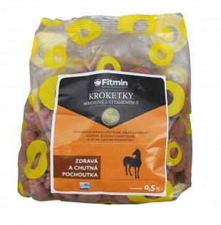 KROKETKY mrkvové s vitamínem E 0,5kg