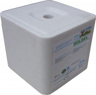 Solný liz SOLSEL NATURAL bílý10kg