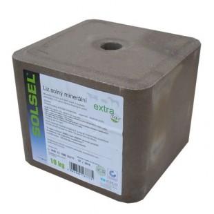 Solný minerální liz SOLSEL EXTRA 10kg
