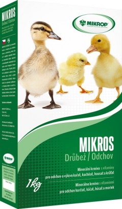 MIKROP Mikros Drůbež 1kg