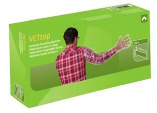 Rukavice polyetylén VETtop 5-prsté vyšetřovací 100ks