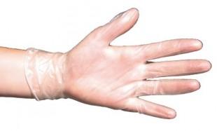 Hygienické rukavice VINYL 5-prsté 100ks v.