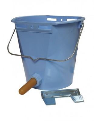 Vědro TETI Blue komplet s kovovým držákem