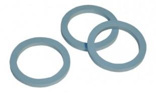 Podložka ventilu 4mm modrá