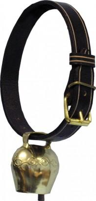 Zdobený řemen pro zvony 47mmx125cm černý