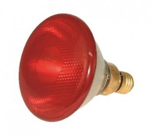 Infražárovka PAR úsporná 100W červená