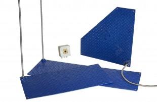Termodeska rohová 68x66x68cm, 230V/60W