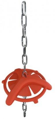 Antistresová hračka pro prasata s řetězem
