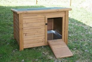 Kurník pro kachny a husy dřevěný 93x73x67cm