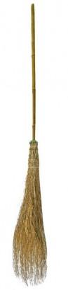Koště bambusové s násadou