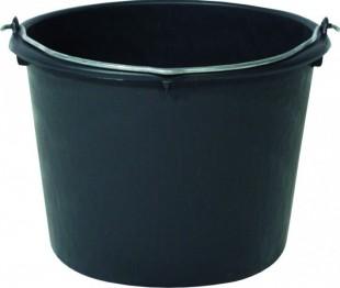 Vědro plastové černé 5 l
