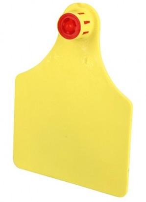 Ušní terč FlexoPlus velký dvojitý žlutý