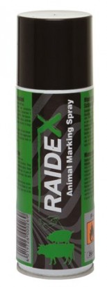 Sprejová barva RAIDEX 200ml zelená - AKCE