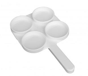 Testovací miska Milktest bílá