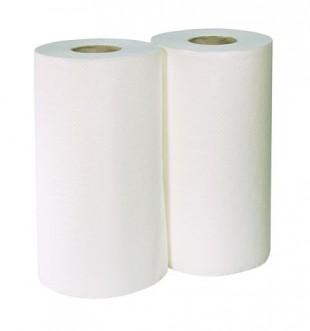 Papírové utěrky v roli balení - 2x200ks