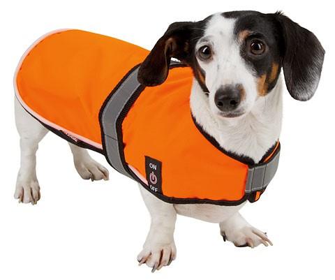 Bezpečnostní vesta MAXI SAFE LED pro psa  - 1
