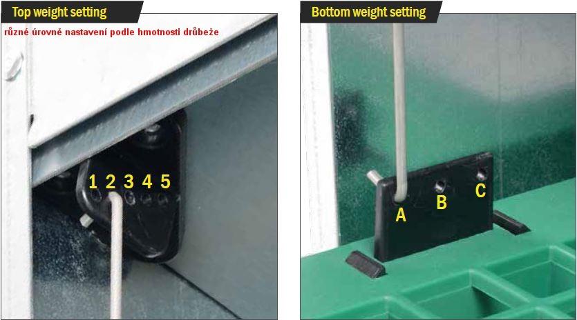 Automat.nášlapné krmítko G-line pro drůbež  - 4