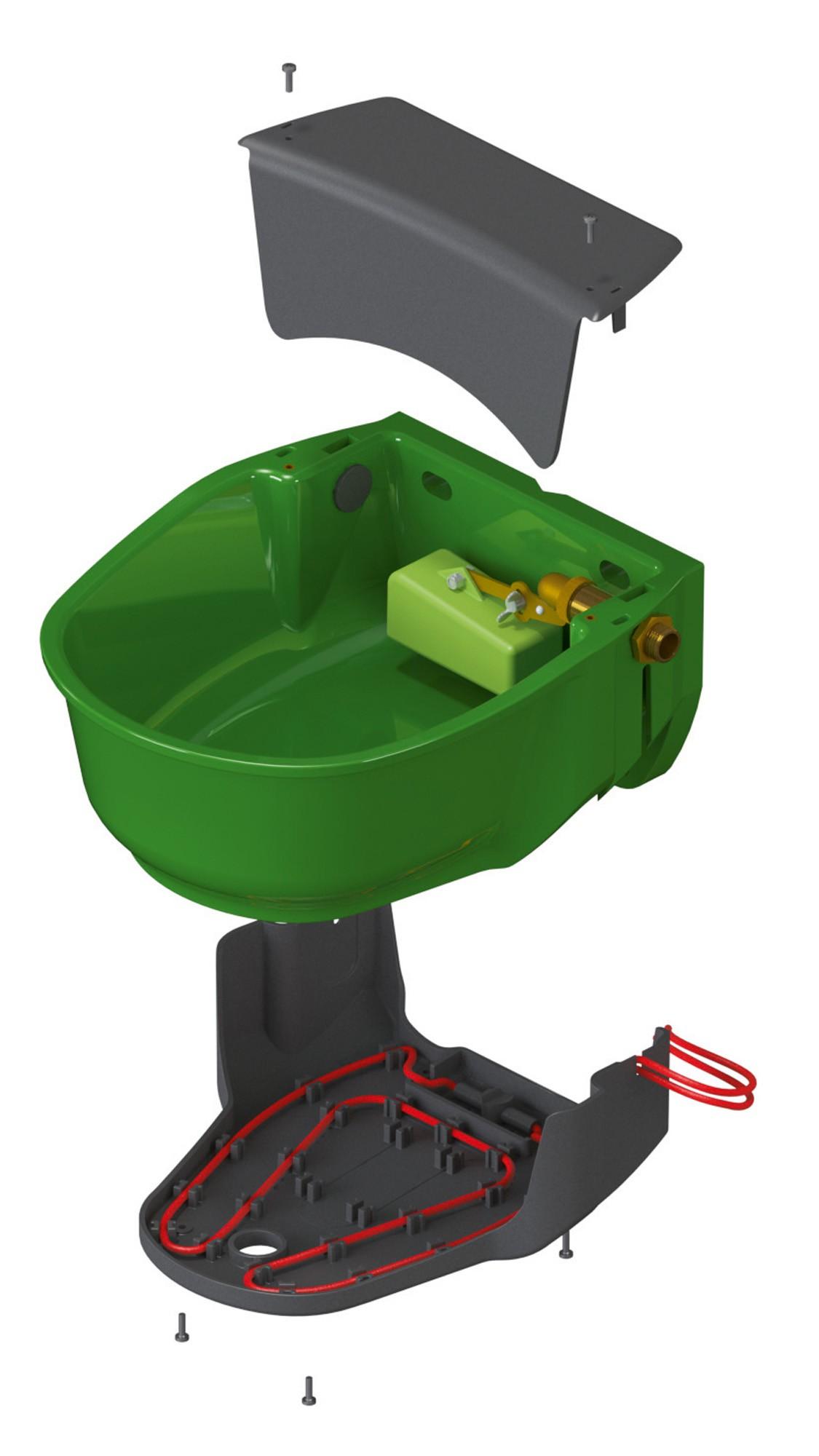 Napáječka hladinová vyhřívaná SH30 230V/31W  - 3