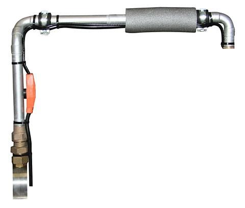 Topný kabel s termostatem 230V  - 3