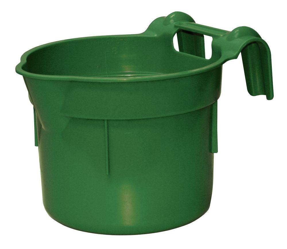 Žlab kruhový závěsný 8 l b.zelená