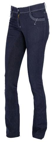 Jezdecké kalhoty COVALLIERO Basic Plus 40|modré