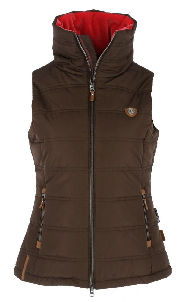 Jezdecká vesta COVALLIERO Kylie XL|b.hnědá
