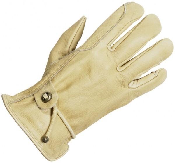 Jezdecké rukavice BUSSE Working kožené - 1