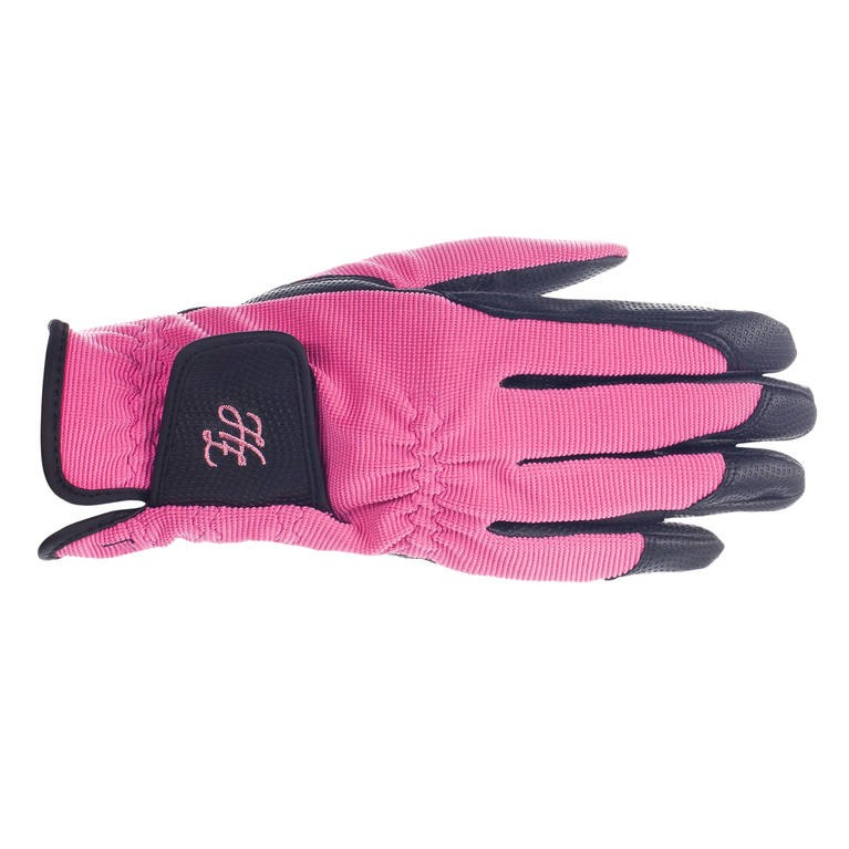 Jezdecké rukavice HORZE Shona 9|růžové
