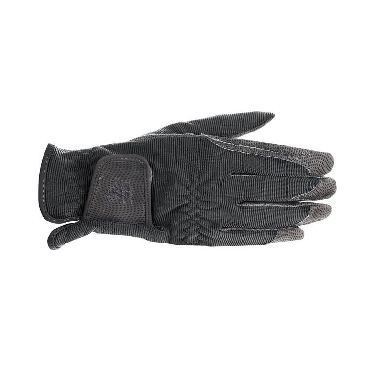Jezdecké rukavice HORZE Shona 8|černé