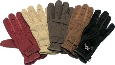 Jezdecké rukavice LAG Domi-Sued