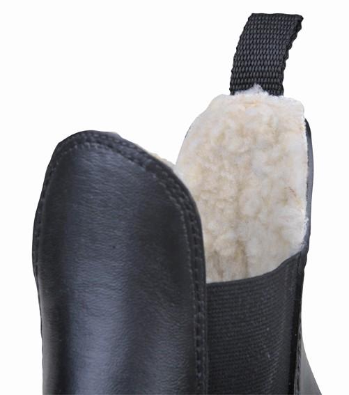 Jezdecká perka zimní HKM Soft gumová  - 2