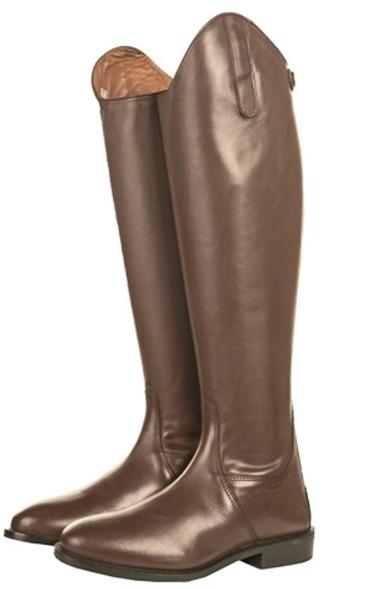 Jezdecké boty HKM Italy kožené standard  - 2