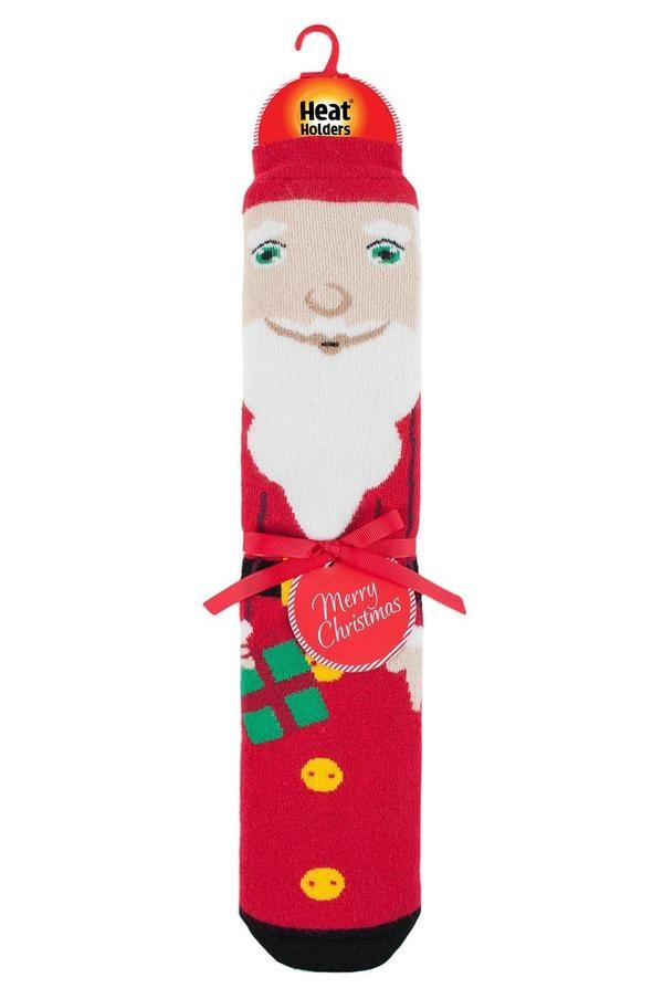 Thermoponožky Heat Holders pánské vánoční 39-45 Santa s ABS  - 2