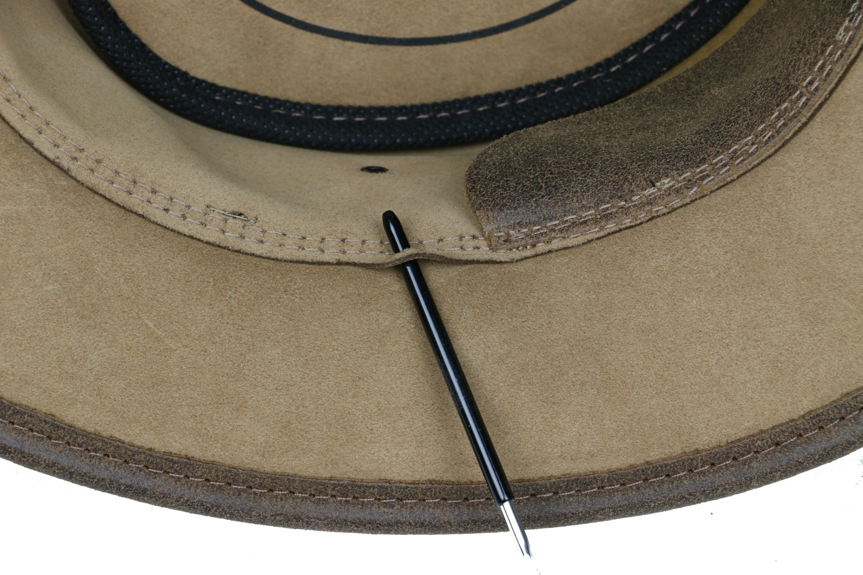 Westernový klobouk SCIPPIS Enfield kožený  - 4
