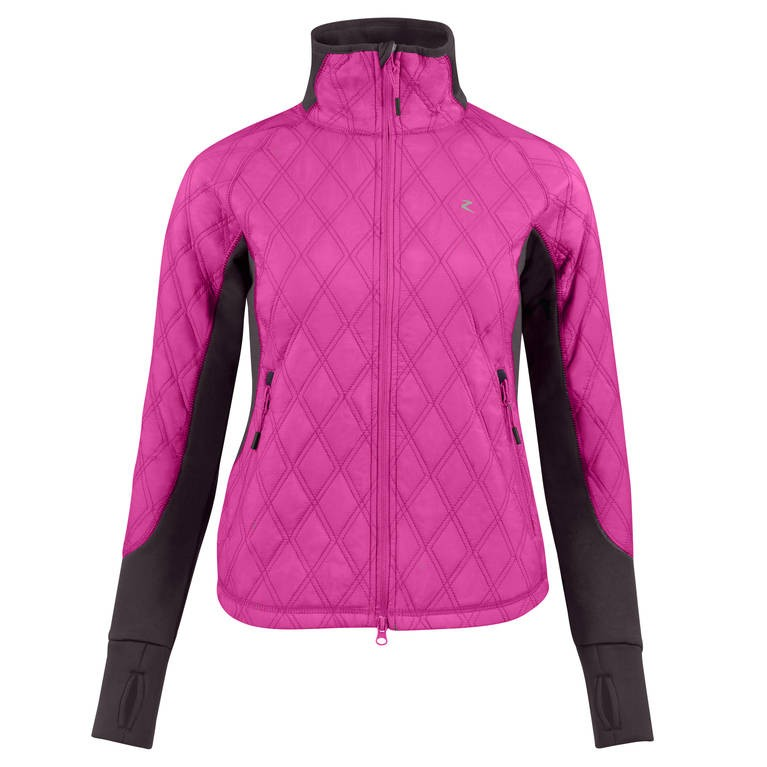 Jezdecká bunda zimní HORZE Zoe 40|růžová
