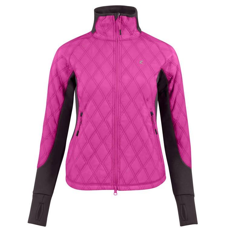 Jezdecká bunda zimní HORZE Zoe 44|růžová