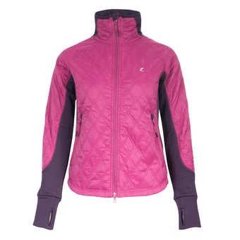 Jezdecká bunda zimní HORZE Zoe 42|fialová