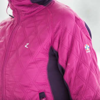 Jezdecká bunda zimní HORZE Zoe  - 5