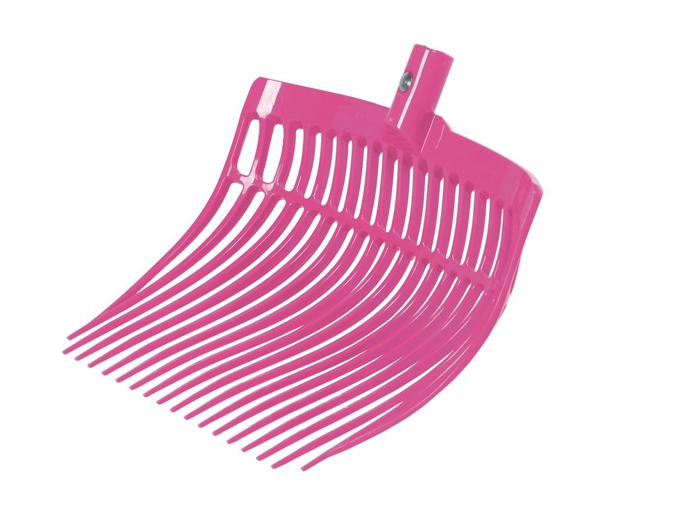 Mistovací vidle SOLID plastové růžové