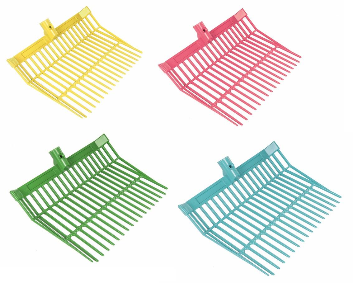 Mistovací vidle plastové s hliníkovou násadou, různé barvy  - 2