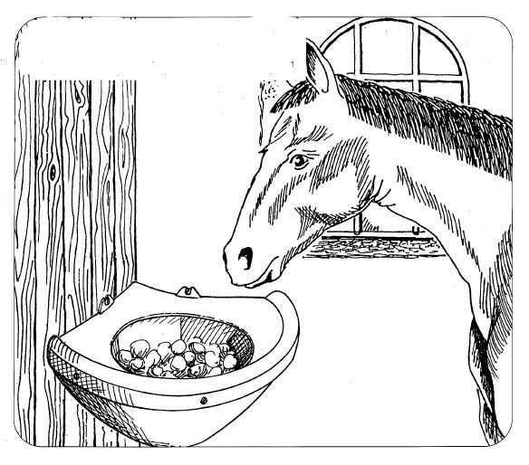 Žlab rohový OK PLAST pro koně 16ltr.  - 3